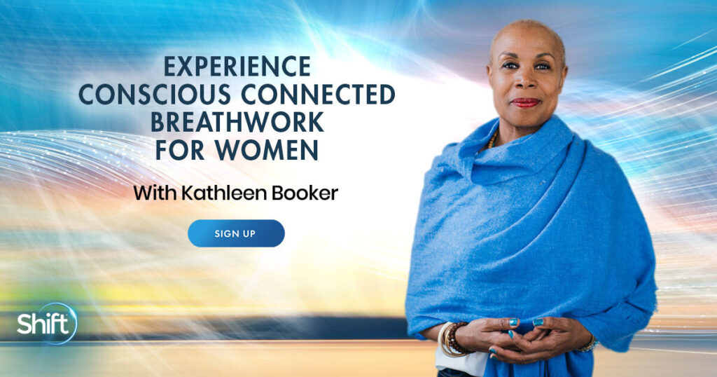 Experience Conscious Connected Breathwork for Women with Kathleen Booker